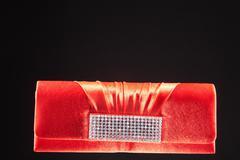 Stock Photo of clutch bag in an elegant design