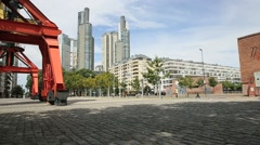 New constructions in Puerto Madero, Buenos Aires Stock Footage