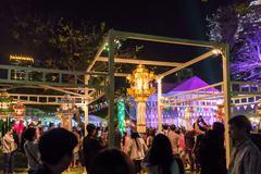 The Thailand Tourism Festival - stock photo