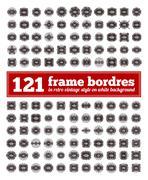 Border Frame Set. Stock Illustration