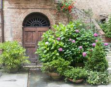 Buonconvento (Tuscany, Italy) - stock photo