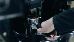 Making coffee Stock Footage