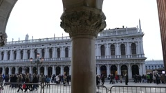 Italy Venice monuments. Stock Footage