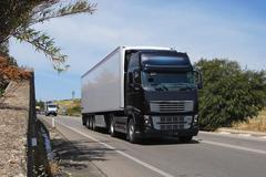 Trucking and logistics Stock Photos