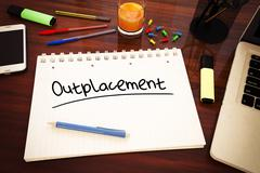 Outplacement - stock illustration