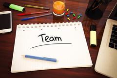 Team Stock Illustration