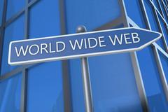 Stock Illustration of World Wide Web