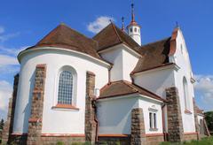 church, Ruzhany, Belarus - stock photo