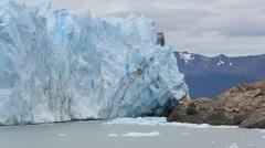 Perito Moreno Glacier - South Patagonia, Argentina Stock Footage