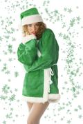 Green noel Stock Photos