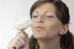 Kiss rose Stock Photos