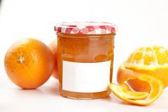 tasty home made marmelade - stock photo