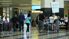 Airport Oliver Tambo International 2 Stock Footage
