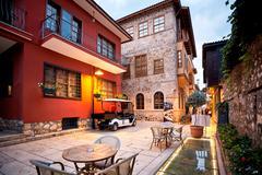 Old town Kaleici in Antalya Turkey Stock Photos