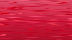 Background: red waves, fluency, flexibility. - stock footage