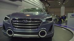 Subaru VIZIV 2 Concept Stock Footage