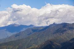 Andes Mountains, Aerial View, South America Stock Photos