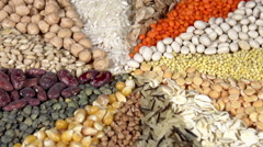 Colorful Harvest Stock Footage
