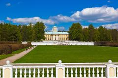 Museum-Estate Arkhangelskoye - Moscow Russia - stock photo
