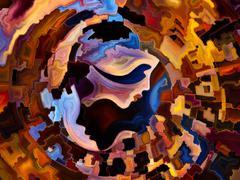 Stock Illustration of Diversity of Inner Paint