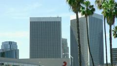 4K, UHD, Modern architecture in Century City,  Los Angeles, California Stock Footage