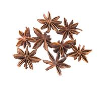 Stock Photo of Dried Cinnamon, Anise. Isolated