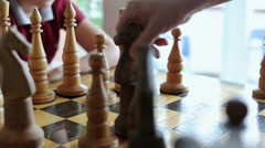 Chess 002 Stock Footage