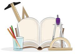 Drawing tools - stock illustration