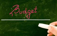 Stock Photo of budget concept