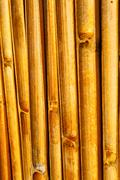 abstract cross bamboo in the temple kho   south - stock photo