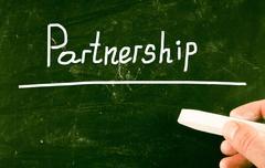 Partnership concept Stock Photos