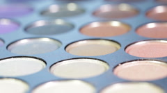 Eyeshadow Palette - stock footage