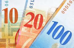 Switzerland Francs  - stock photo
