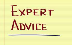 Stock Photo of Expert Advice Concept