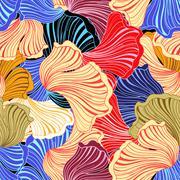 wonderful abstract pattern - stock illustration