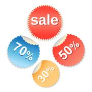 special offer labels set - stock illustration