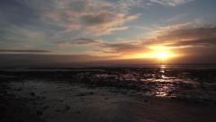 Ireland Dublin Coastline Time Lapse Stock Footage