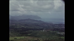 Expansive Views from Hawaiian Mountaintop Stock Footage