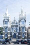 Basilica of Our Lady of the Mount (Mount Mary Church), a Catholic church located Stock Photos