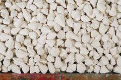 Marly limestone for clay mask Stock Photos