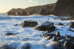 Marloes Sands, Pembrokeshire, Wales, United Kingdom, Europe Stock Photos