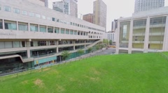 Lincoln Center with Juilliard School and Avery Fisher Hall Stock Footage