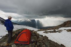 Glacier du Tour on Aiguille du Tour, Chamonix Valley, Rhone Alps, Haute Savoie, Stock Photos