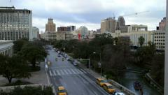 Downtown San Antonio, Texas - stock footage
