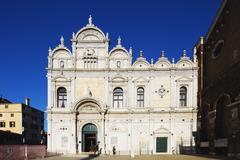 Scuola Grande di San Marco, Venice, UNESCO World Heritage Site, Veneto, Italy, Stock Photos