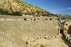 Theatre of Myra, Demre, Antalya Province, Anatolia, Turkey Minor Stock Photos