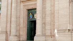 Sant'Andrea al Quirinale. Roma, Italy. 1280x720 Stock Footage