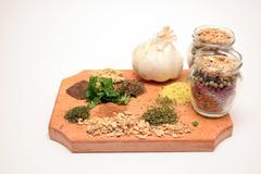 Kitchen spicery - stock photo