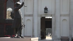 Royal Hospital Chelsea, London 2 Stock Footage