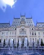 Palace of Culture Iasi - stock photo